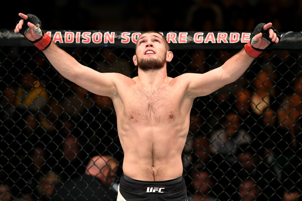 Khabib Asks for Ferguson at UFC 219