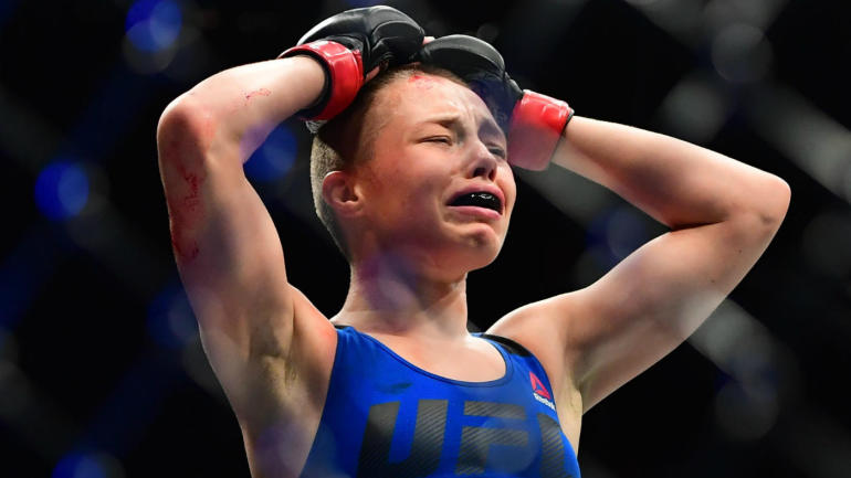 Rose Namajunas Steals the Show at UFC 217