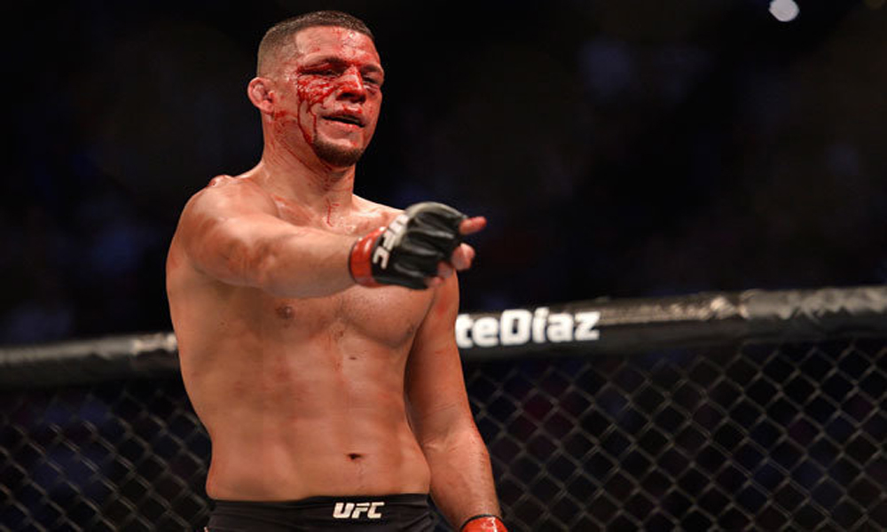 Diaz vs Woodley Rumored for UFC 219